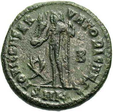 identifying common late roman bronze coins
