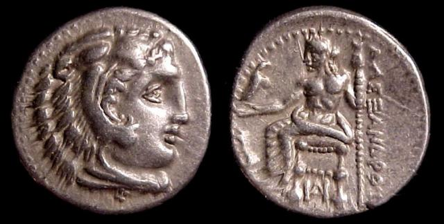 "Alexander III, ""The Great"" of Macedon, ""Lifetime"" AR Drachma, 325-323 BC. Mint of Miletos"