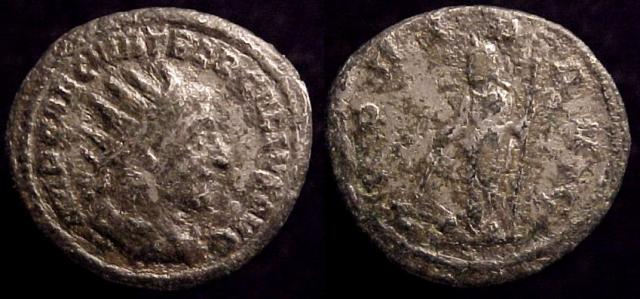 Contemporary copy of AR / Billon Antoninianus of Trebonianus Gallus, 251-3 AD