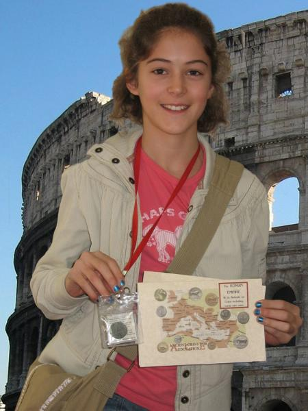 North Carolina student at Colosseum
