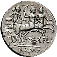 Biga of what? on Republican Denarius