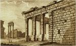 Temple by Pronti18thC engraving