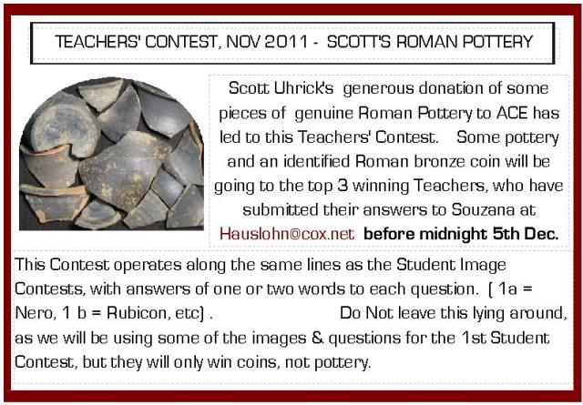 Nov 2011 Scott's Pottery Teacher Contest