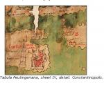 Peutinger Map Constantinople