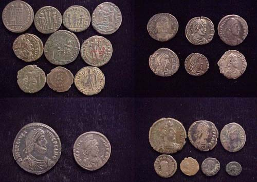 Late Roman coins