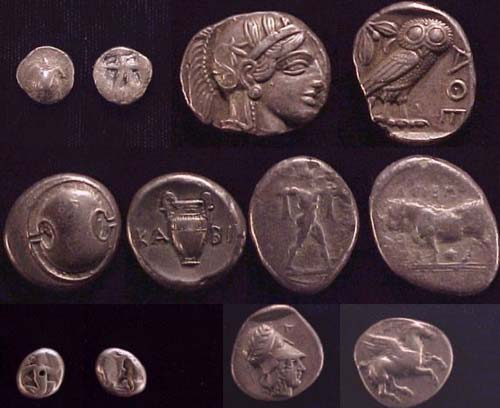 Pre Hellenistic coins