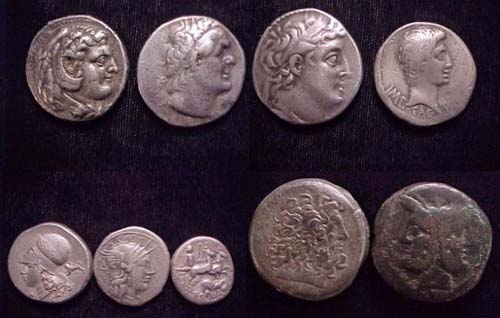 Hellenistic and Republican coins